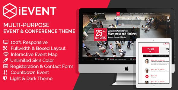 iEVENT - Event & Conference HTML Template