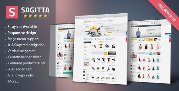 Sagitta - Mega Store Responsive OpenCart 2 Theme - Shopping OpenCart