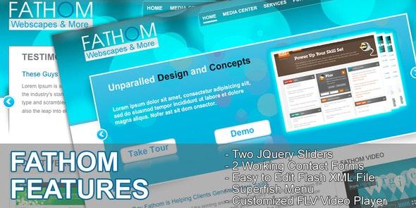 Fathom Webscapes - Creative Site Templates