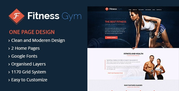 Fitness Gym - Landing Pages Marketing