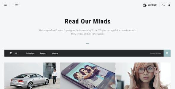 ASTIR - Creative Web Design