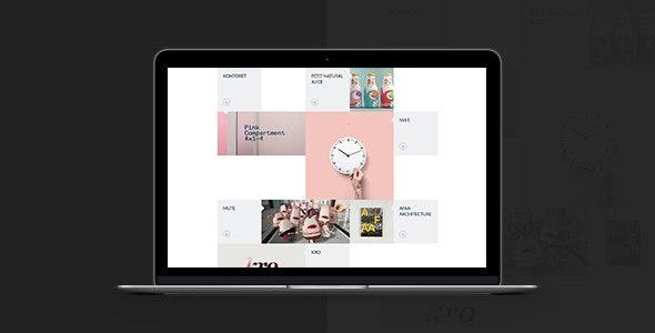 Grido: Responsive and Multipurpose Grid Portfolio - Portfolio Creative