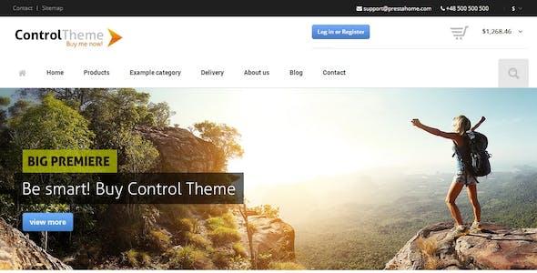 Control - PrestaShop Theme Responsive + Included Blog