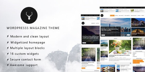Vaga - WordPress Magazine and Blog Theme - Blog / Magazine WordPress