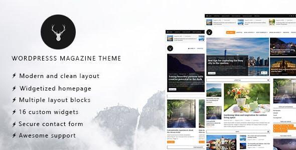 Vaga - WordPress Magazine and Blog Theme