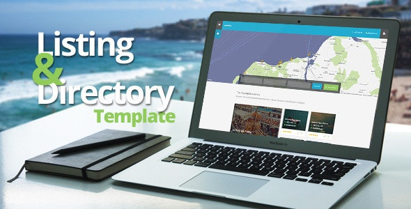 Marina Listing & Directory Template - Entertainment Site Templates