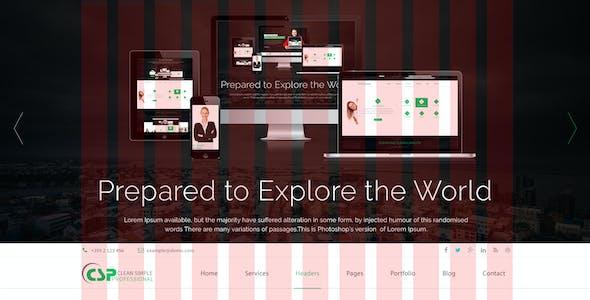 CSP Multipurpose HTML5 Template
