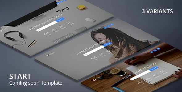 Countdown Timer Templates from ThemeForest