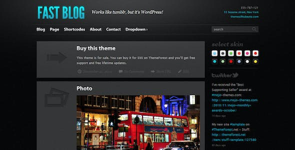 Fancybox Templates from ThemeForest