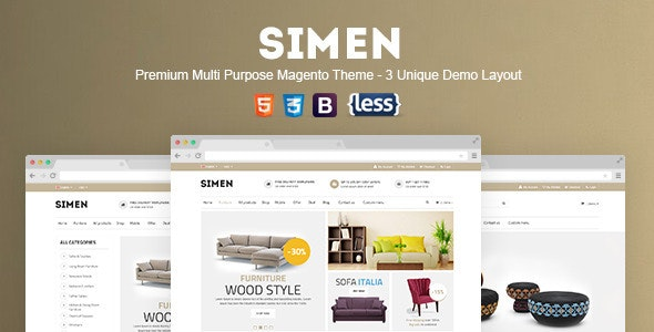 SNS Simen - Responsive Magento Theme - Shopping Magento