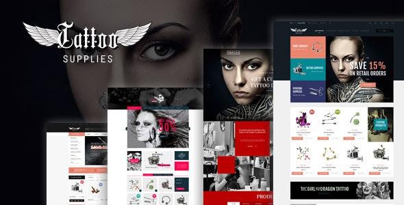 Leo Tattoo Responsive Prestashop Theme - PrestaShop eCommerce