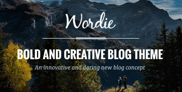Wordie - Premium WordPress Blog Theme - Personal Blog / Magazine