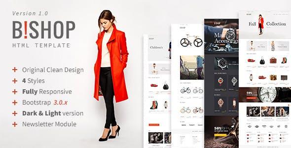 Bishop - Modern Shop Template