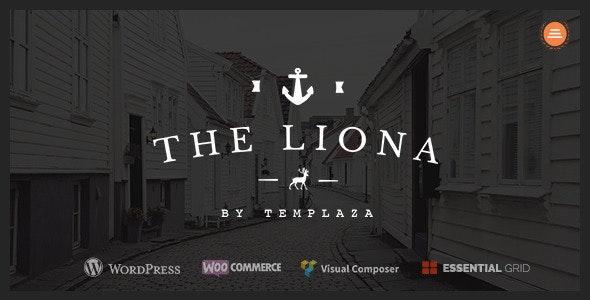 LIONA | A Portfolio Theme for Creative Site - Portfolio Creative