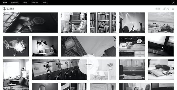 LIONA | A Portfolio Theme for Creative Site