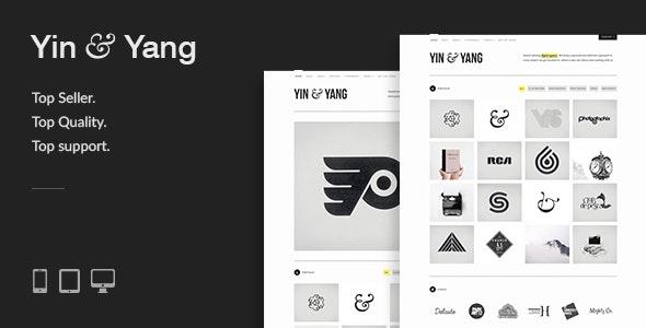 Yin & Yang: Modern, Responsive, Clean & Creative WordPress Portfolio Theme, powered by AJAX - Portfolio Creative