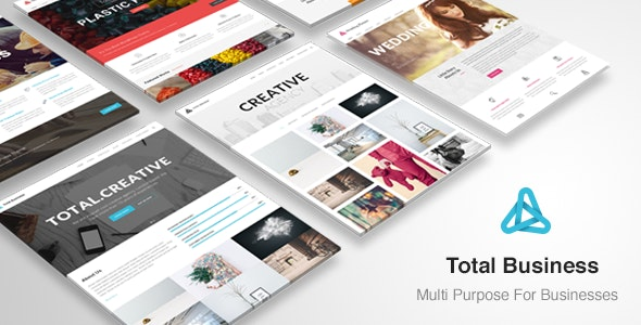 Total Business - Multi-Purpose WordPress - Business Corporate
