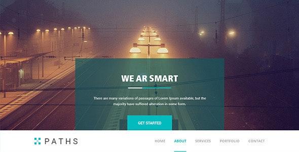PATHS | Responsive Multi-purpose HTML5 Template  - Portfolio Creative
