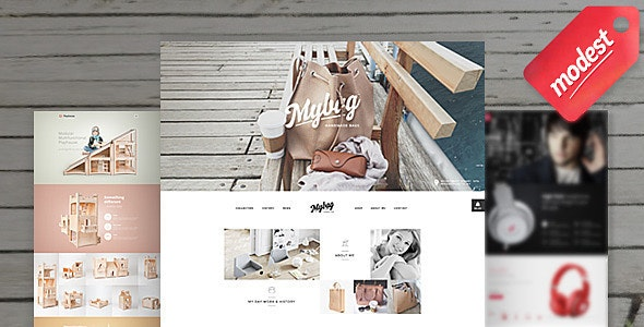 Modest Shop -  eCommerce Responsive Template - Creative Site Templates