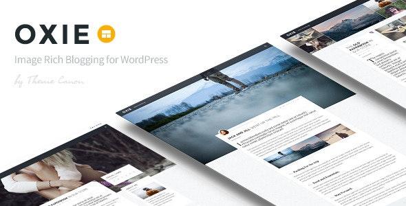 Oxie - Responsive WordPress Blog - Personal Blog / Magazine