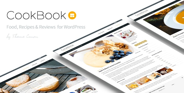 CookBook - Food Magazine Blog - News / Editorial Blog / Magazine