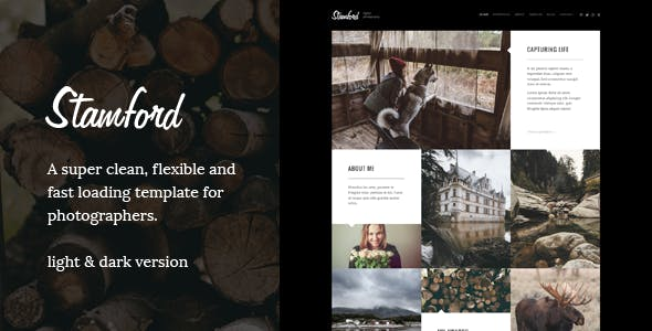 Stamford – Creative Photography Drupal Theme