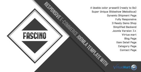 Fascino - Responsive Joomla & VirtueMart Template - VirtueMart Joomla
