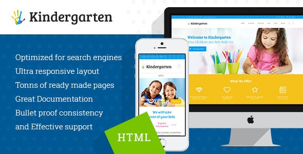 Kindergarten - Children HTML Theme - Children Retail