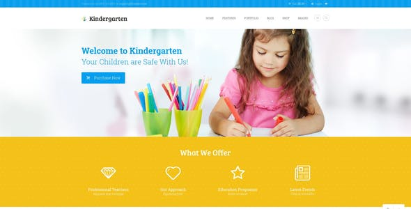 Kindergarten - Children HTML Theme