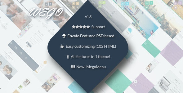 Wego - HTML5 Responsive Business Premium Template - Business Corporate