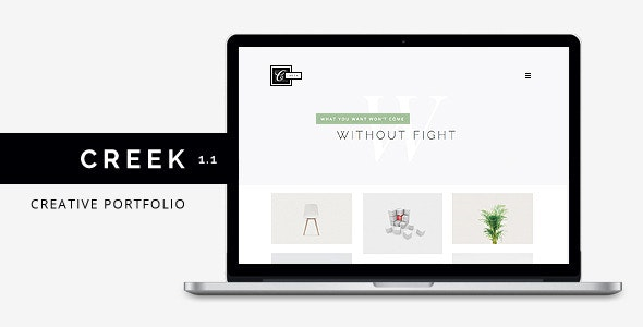 Creek - Creative Agency Portfolio HTML5 Theme - Portfolio Creative