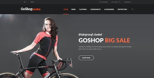 GoShop - eCommerce PSD Template
