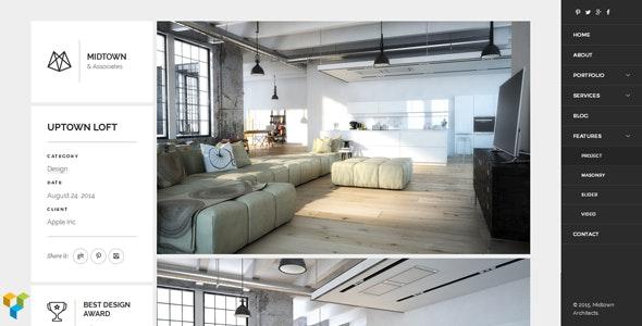 Midtown Architects – Responsive WordPress Theme - Business Corporate