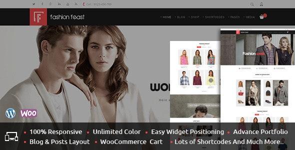 Fashion Feast - WooCommerce Responsive Theme - WooCommerce eCommerce