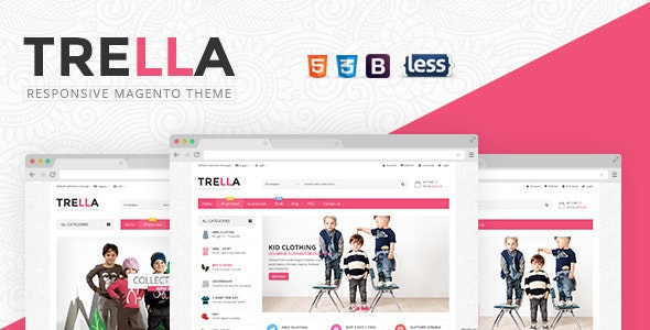 SNS Trella - Responsive Magento Theme - Magento eCommerce