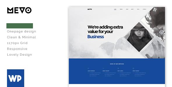 Mevo - Creative Responsive WordPress Theme - Experimental Creative