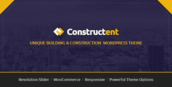 Constructent - Responsive Construction WordPress Theme - Business Corporate