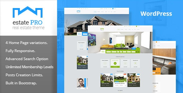 Estate Pro - Real Estate WordPress Theme - Real Estate WordPress