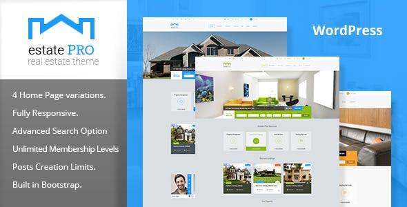 Estate Pro - Real Estate WordPress Theme