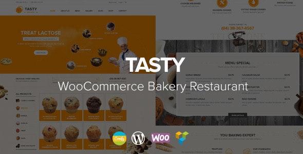 Tasty - WooCommerce Bakery WordPress Theme - Food Retail