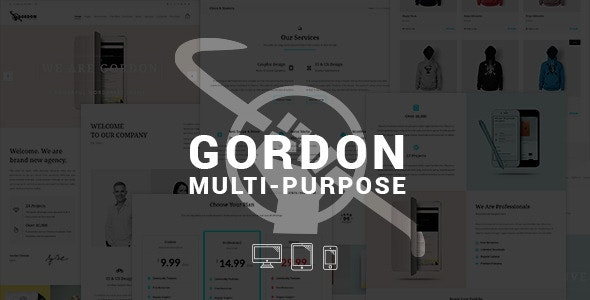 GORDON - Smart Multi-Purpose WordPress Theme - Business Corporate