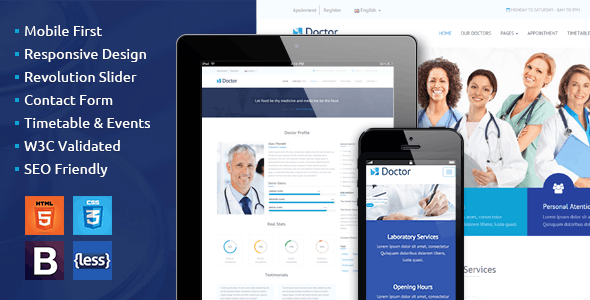 Doctor - Health Clinical Template - Health & Beauty Retail