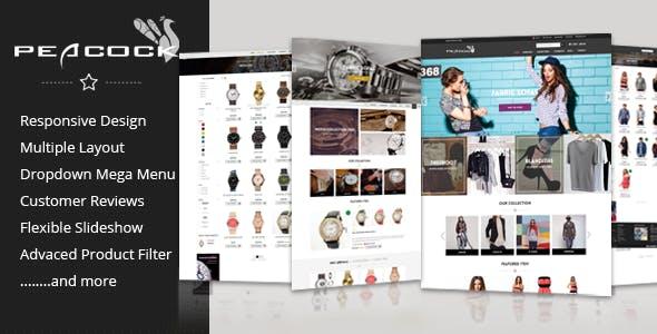 Peacock - Multipurpose Responsive Shopify Theme