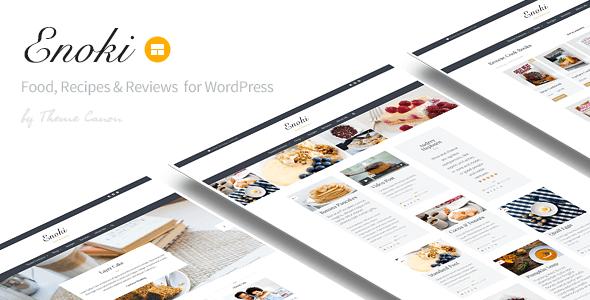 Enoki - Personal Blog For Foodies - Personal Blog / Magazine