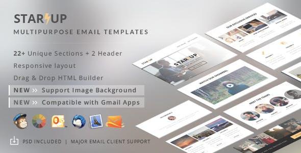 Startup - Creative E-Newsletter + Builder Access