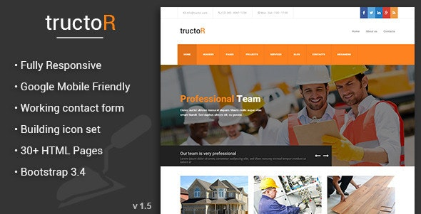 Tructor - Architecture and Building Agency - Business Corporate