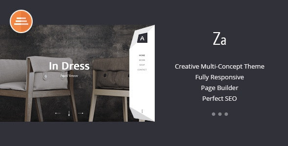 Za - Creative Fashion Portfolio HTML Theme - Portfolio Creative