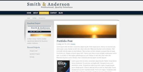 Smith & Anderson : Business & Portfolio Template