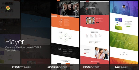 Player -  Creative Multipurpose HTML5 Template - Creative Site Templates