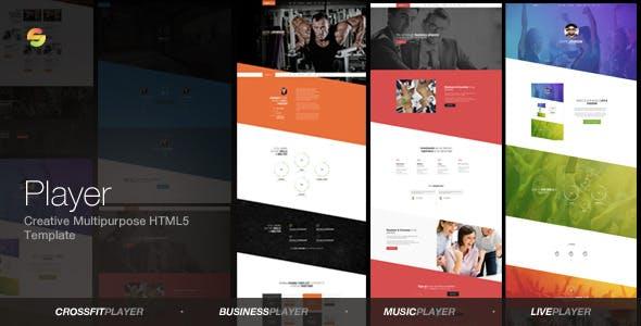 Player -  Creative Multipurpose HTML5 Template